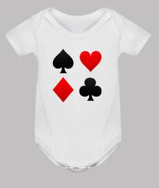 Poker suits Body bebe