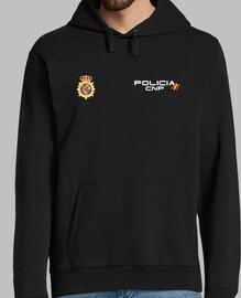 Police cnp avant et arrière maillot