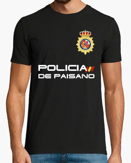 Camiseta Policía de Paisano (Cuerpo Nacional de Policía)