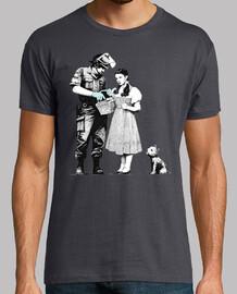 policia Dorothy Gale totó banksy