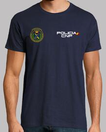 Policia Nacional TEDAX mod.7 delante y detrás