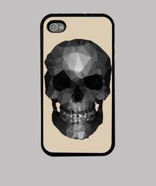 poligono skull grigio