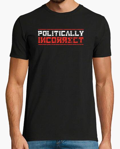 T-shirt politicamente scorretto