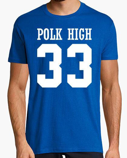 Camiseta Polk High 33 - Al Bundy (Matrimonio con Hijos)
