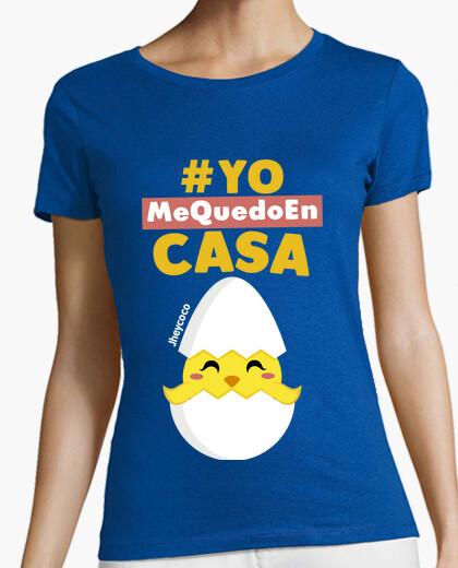 Camiseta Pollito en casa