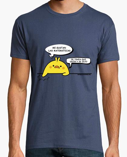 Camiseta Pollito Me Gustan las Matemáticas