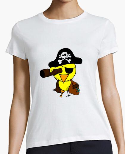 Camiseta Pollito Pirata