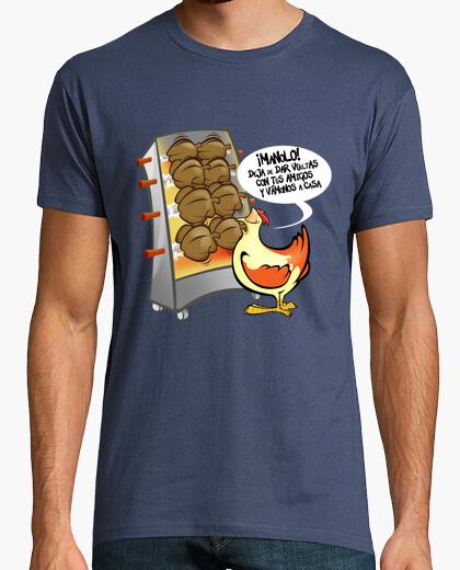 Camiseta Pollo asado