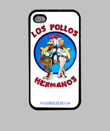 Pollos Colores Iphone 4/4s. Premium