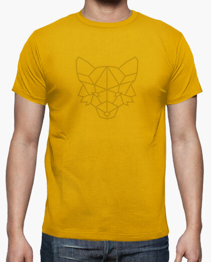 Polygonal shirt fox t-shirt