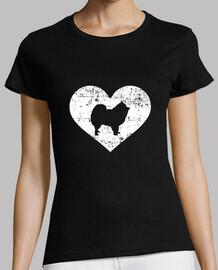 Pomeranian heart