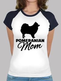 pomeranian mom
