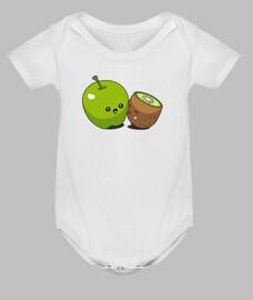 Pomme kiwi bisou
