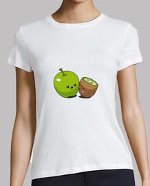 Pomme kiwi bisou t-shirt femme