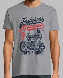 pompiers de moto