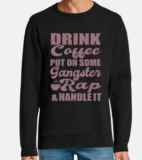 poner regalo de cita de café rap gángst
