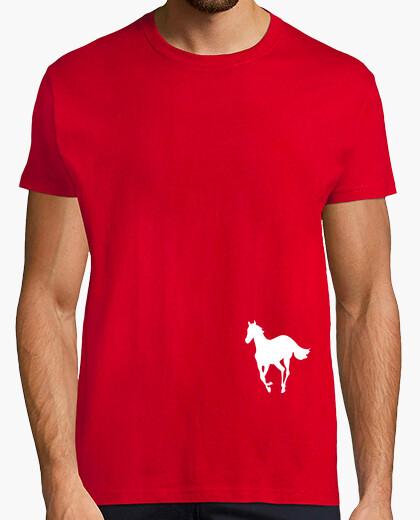Tee-shirt poney blanc