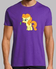 Pony naranja chico