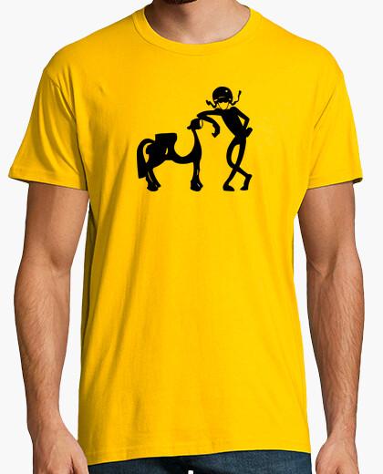 Camiseta PonyExprés Negro