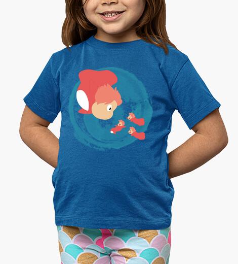 Vêtements enfant Ponyo et ses soeurs