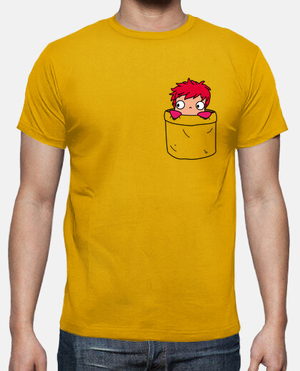 ponyo in a small pocket