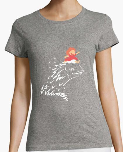 T-shirt ponyo per donna