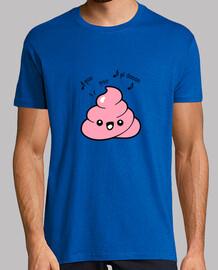 Poo emoticon funny quote men t-shirt