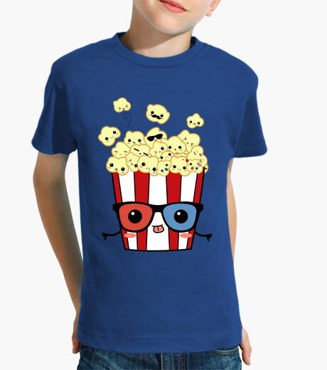 Vêtements enfant pop-corn 3d