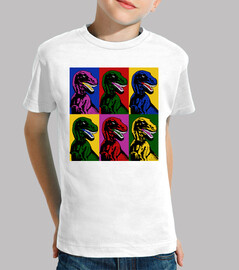pop art dinosaur