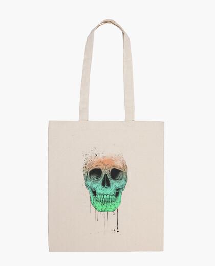Bolsa Pop art skull