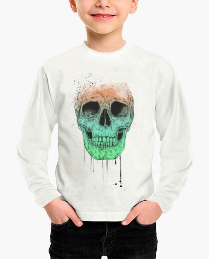 Ropa infantil Pop art skull