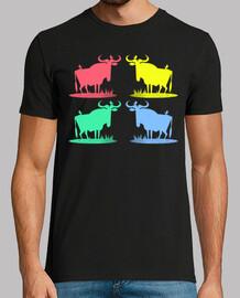 Pop Art Wildebeests