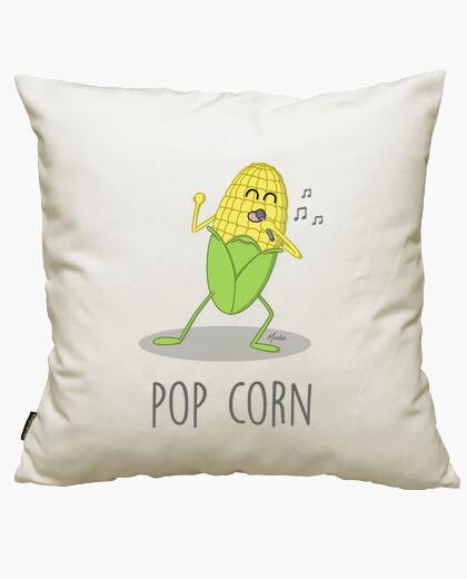 Housse de coussin pop corn