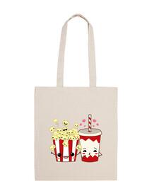 popcorn e coke