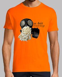 Popcorn Gas Mask T-Shirt