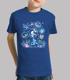popp bulle t-shirt pour enfants
