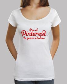 por el Pinterest te quiero Andrés logo rojo