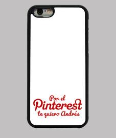 Por el Pinterest te quiero Andrés rojo movil