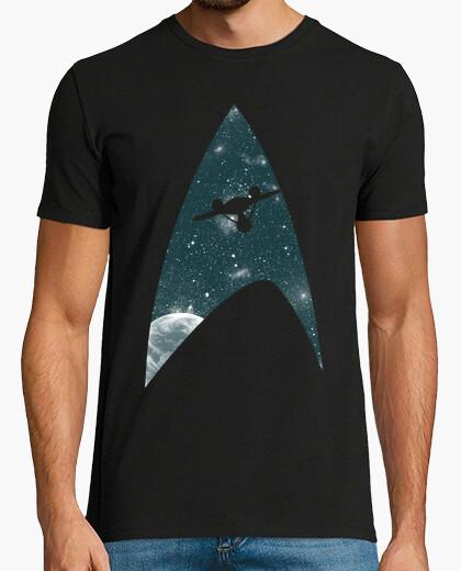 T-shirt porre fine alla frontiera spaziale