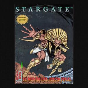 Camisetas Portada Stargate comic 3