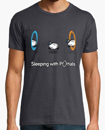 Tee-shirt portal - dormir avec des portails