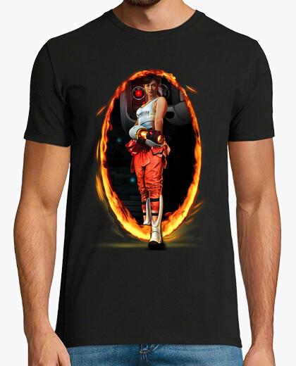 Tee-shirt portal chell