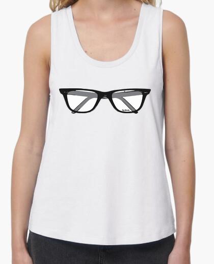 Tee-shirt porter des lunettes