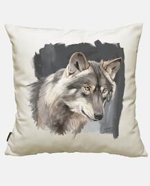 portrait de loup ibérique 2