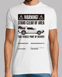 Poster di Avvertimento (Ritorno al Futuro)
