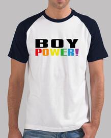 potere del ragazzo! baseball maschio arcobaleno