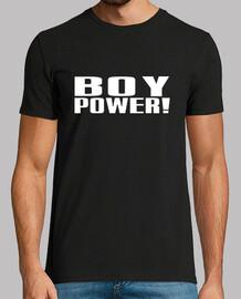 potere del ragazzo! maschio bianco