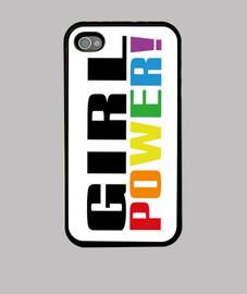 potere della ragazza! arcobaleno smartphone
