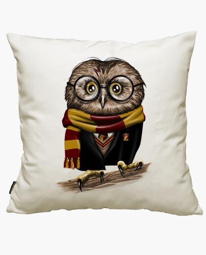 Housse de coussin potter owly