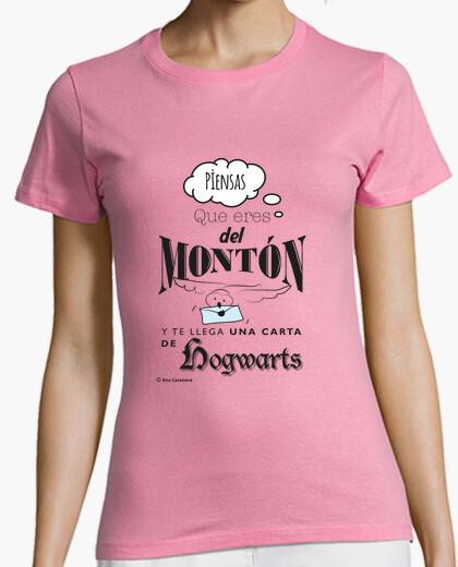 Tee-shirt poudlard.  femme